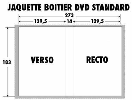 Gabarits jaquette DVD, Blu-ray pour duplication en gravure ou pressage. | la Goélette Paris